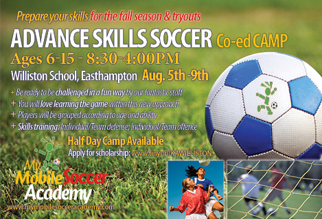 Register Now for Advance Skills Soccer Camp! | Amherst Youth Soccer